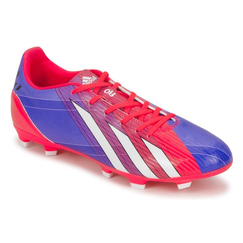 Schoenen Heren Voetbal adidas Performance F10 TRX FG Blauw / Wit / Rood