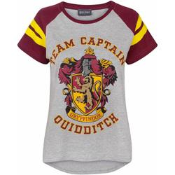 Textiel Dames T-shirts korte mouwen Harry Potter  Veelkleurig