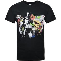 Textiel Heren T-shirts korte mouwen Dessins Animés  Zwart