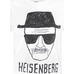 Textiel Heren T-shirts korte mouwen Breaking Bad  Wit