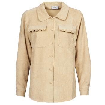 Textiel Dames Jasjes / Blazers Betty London PATISSONE Beige
