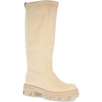 Schoenen Dames Hoge laarzen Colilai H1072 Beige