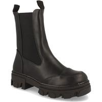 Schoenen Dames Enkellaarzen Milaya 8K12 Negro