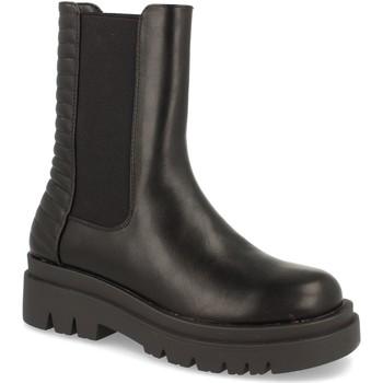 Schoenen Dames Enkellaarzen Milaya 8K13 Negro
