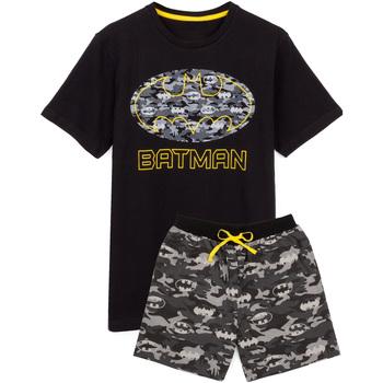 Textiel Heren Pyjama's / nachthemden Dessins Animés  Zwart/Grijs