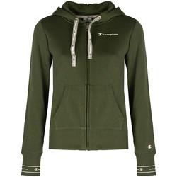 Textiel Dames Sweaters / Sweatshirts Champion  Groen
