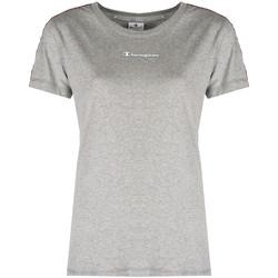 Textiel Dames T-shirts korte mouwen Champion  Grijs