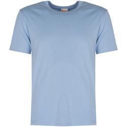 Textiel Heren T-shirts korte mouwen Champion  Blauw