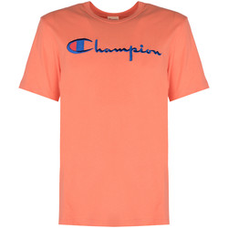 Textiel Heren T-shirts korte mouwen Champion  Roze