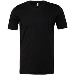 Textiel T-shirts korte mouwen Bella + Canvas CVC3001 Zwarte Heide