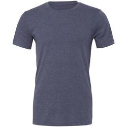 Textiel T-shirts korte mouwen Bella + Canvas CVC3001 Heide-Marine