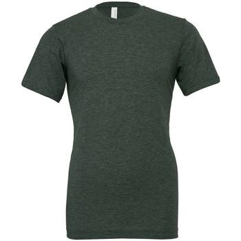 Textiel T-shirts korte mouwen Bella + Canvas CVC3001 Heide Bos Groen