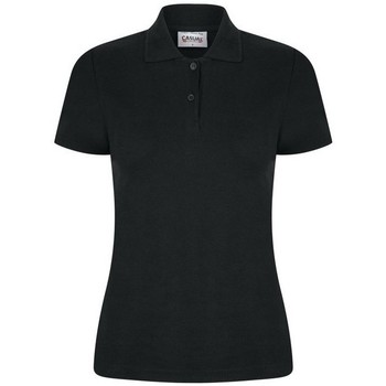 Textiel Dames Polo's korte mouwen Casual Classics  Zwart
