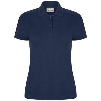 Textiel Dames Polo's korte mouwen Casual Classics  Marine