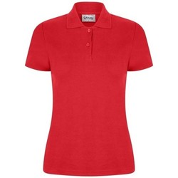 Textiel Dames Polo's korte mouwen Casual Classics  Rood