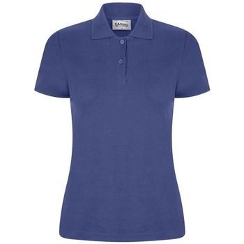 Textiel Dames Polo's korte mouwen Casual Classics  Koninklijk