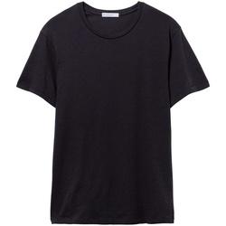Textiel Heren T-shirts korte mouwen Alternative Apparel AT015 Echt zwart