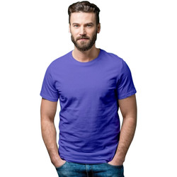 Textiel Dames T-shirts korte mouwen Casual Classics  Blauw