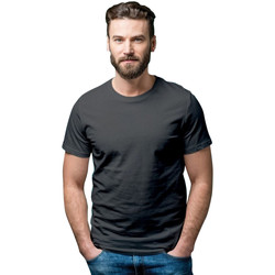 Textiel Dames T-shirts korte mouwen Casual Classics  Zwart