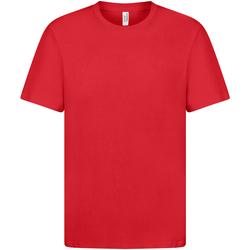 Textiel Dames T-shirts korte mouwen Casual Classics  Rood