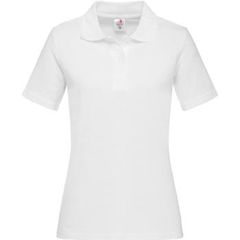 Textiel Dames T-shirts & Polo's Stedman  Wit