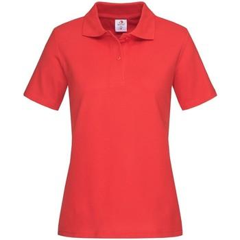 Textiel Dames T-shirts & Polo's Stedman  Scharlakenrood