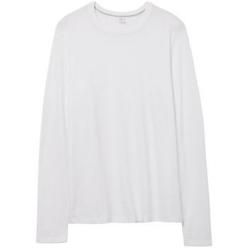 Textiel T-shirts met lange mouwen Alternative Apparel AT014 Wit