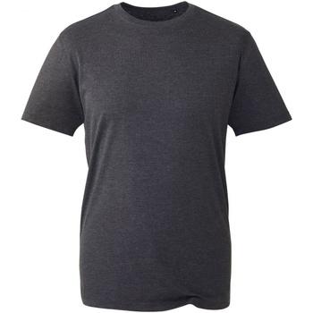 Textiel Heren T-shirts korte mouwen Anthem AM010 Donkergrijs mergel