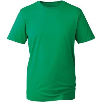 Textiel Heren T-shirts korte mouwen Anthem AM010 Kelly Groen