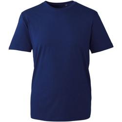 Textiel Heren T-shirts korte mouwen Anthem AM010 Marine