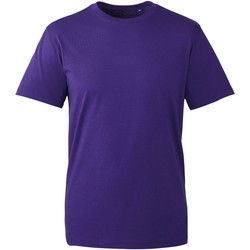 Textiel Heren T-shirts korte mouwen Anthem AM010 Paars