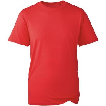 Textiel Heren T-shirts korte mouwen Anthem AM010 Rood