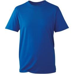 Textiel Heren T-shirts korte mouwen Anthem AM010 Koninklijk