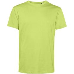Textiel Heren T-shirts korte mouwen B&c TU01B Kalk