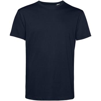 Textiel Heren T-shirts korte mouwen B&c TU01B Marineblauw