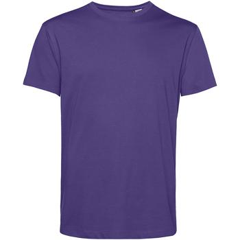 Textiel Heren T-shirts korte mouwen B&c TU01B Stralend paars