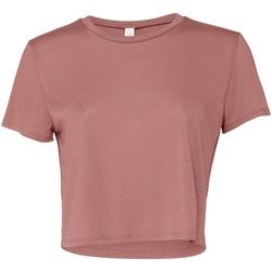 Textiel Dames T-shirts korte mouwen Bella + Canvas BE8882 Mauve