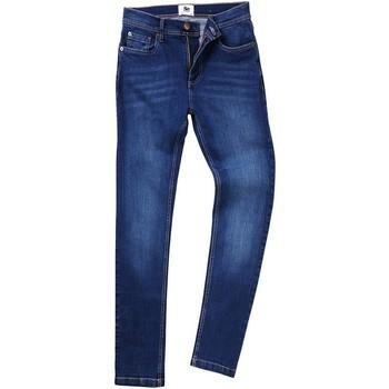 Textiel Heren Straight jeans Awdis SD004 Donkerblauwe was