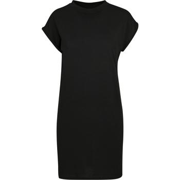 Textiel Dames Korte jurken Build Your Brand BY101 Zwart