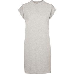 Textiel Dames Korte jurken Build Your Brand BY101 Grijze Heide