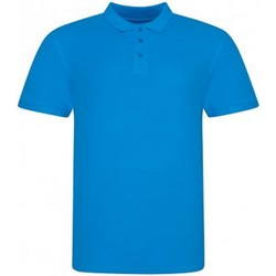 Textiel Heren Polo's korte mouwen Awdis JP100 Azuurblauw