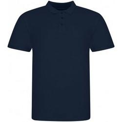 Textiel Heren Polo's korte mouwen Awdis JP100 Marine Oxford
