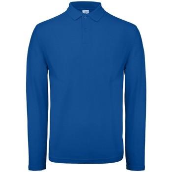 Textiel Heren Polo's lange mouwen B And C BA290 Koningsblauw