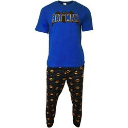 Textiel Heren Pyjama's / nachthemden Dessins Animés  Blauw/Zwart