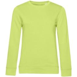Textiel Dames Sweaters / Sweatshirts B&c WW32B Kalk groen
