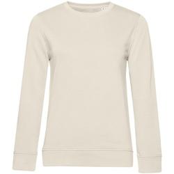 Textiel Dames Sweaters / Sweatshirts B&c WW32B Gebroken wit