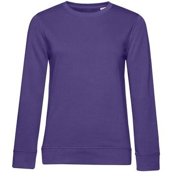 Textiel Dames Sweaters / Sweatshirts B&c WW32B Stralend paars
