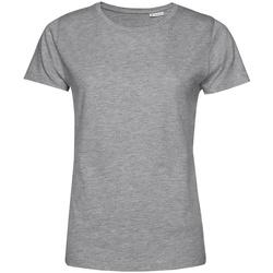 Textiel Dames T-shirts korte mouwen B&c TW02B Grijze Heide