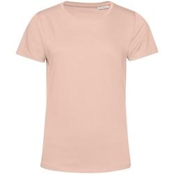 Textiel Dames T-shirts korte mouwen B&c TW02B Schemerige roos