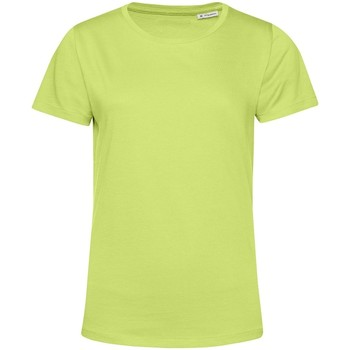 Textiel Dames T-shirts korte mouwen B&c TW02B Kalk groen